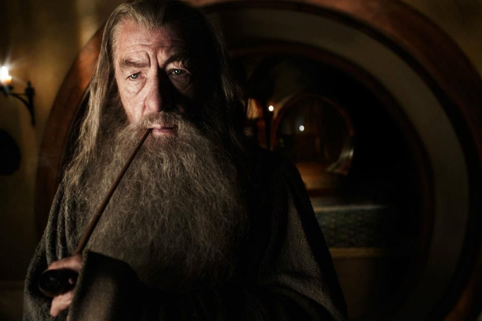 Gandalf contemplates suicide as he smokes his Not Weed.