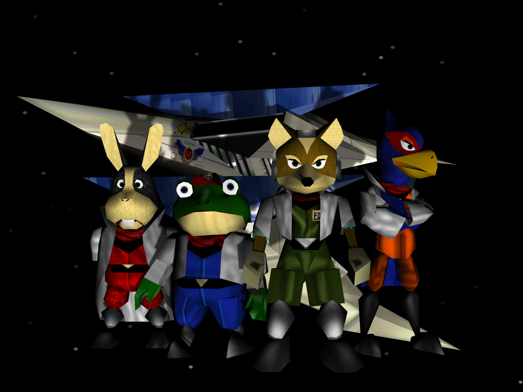 star fox the voices that echo through the lylat system geek title photo