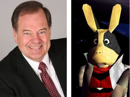 Rick May/Peppy Hare