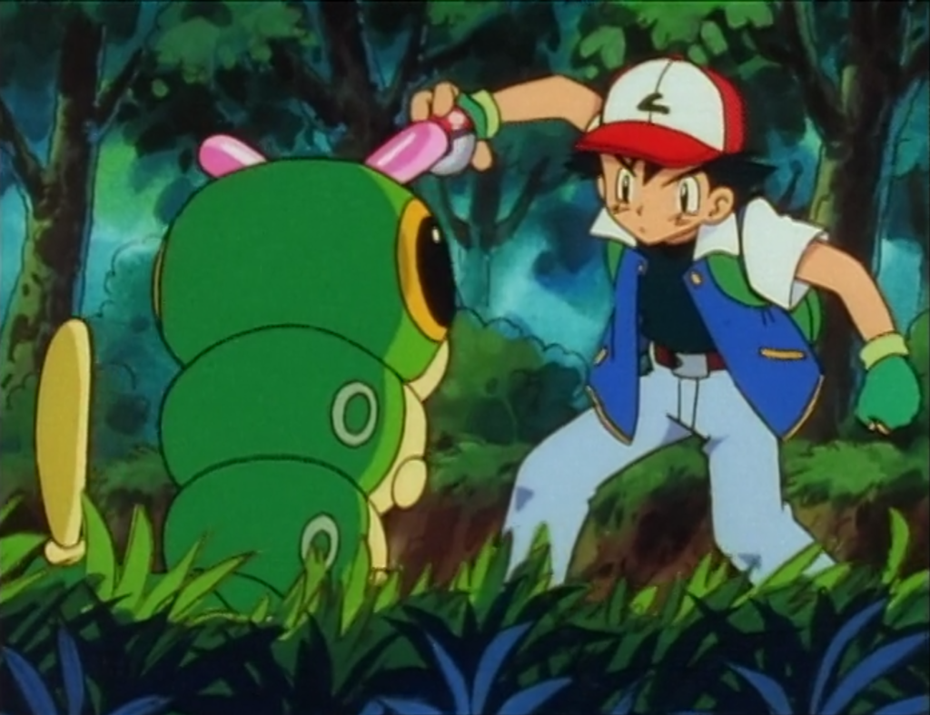 EP 3 Ash and Caterpie