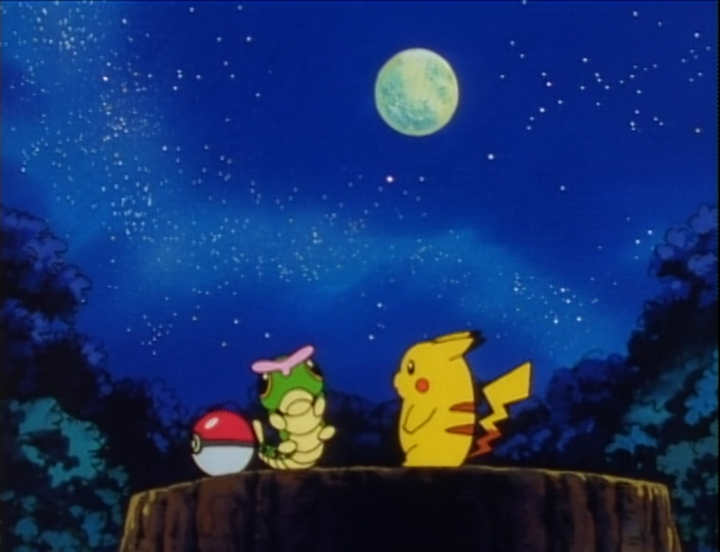 The two Pokémon have an amazing heart to heart.