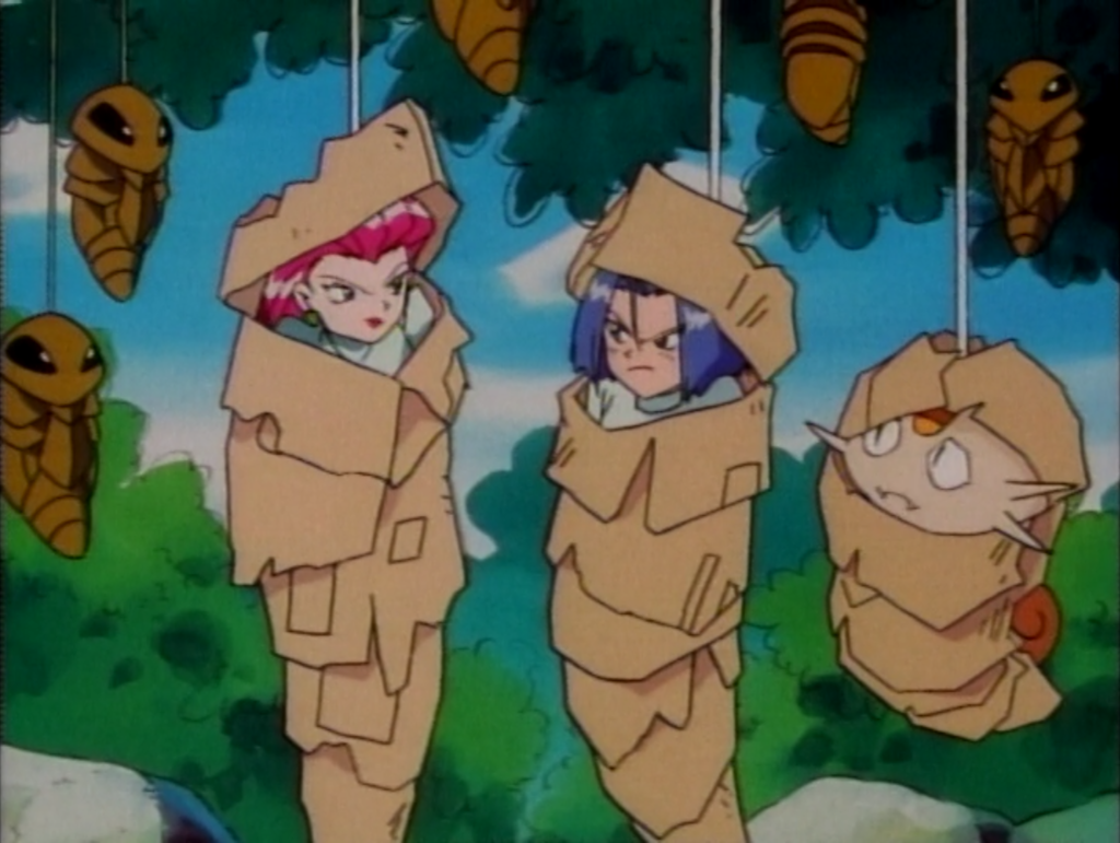 Team Rocket is into some weird, kinky shit