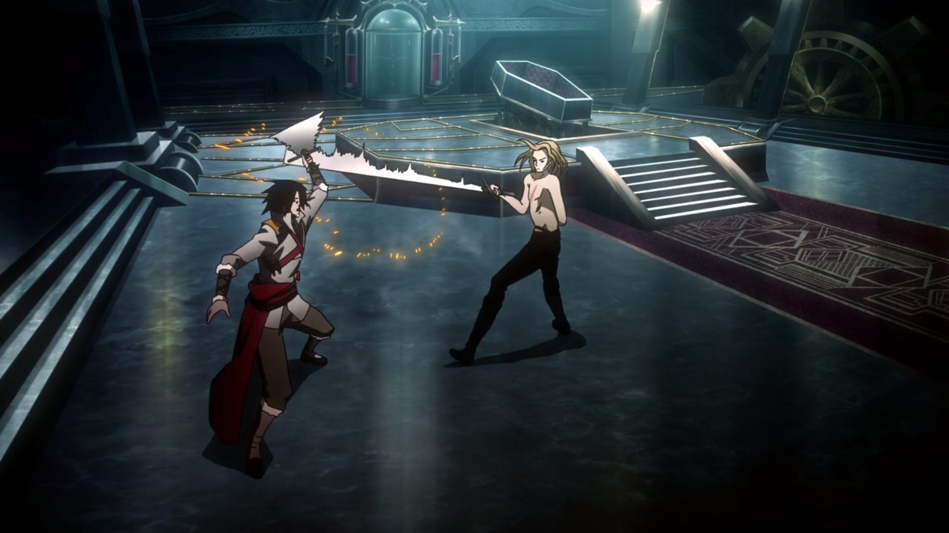 Holy Shit The New Castlevania Show Is So Awful Geek Melee